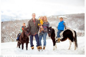 Park City Winter Family Photography