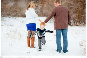 Salt Lake City Winter Family Photography