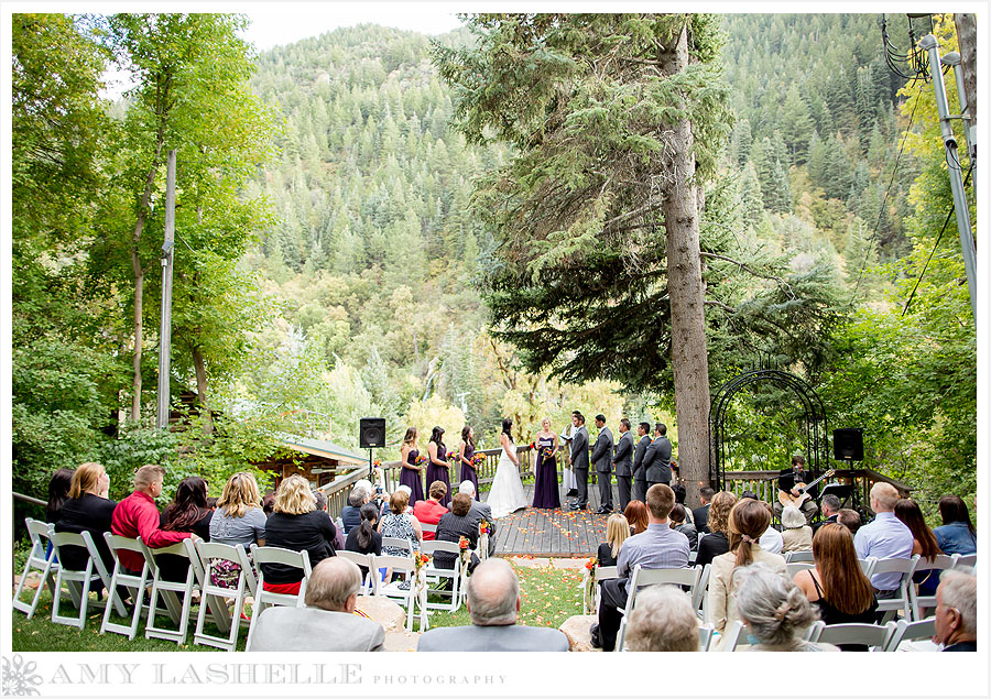 leisa amp pat�s wedding part 1 log haven wedding millcreek
